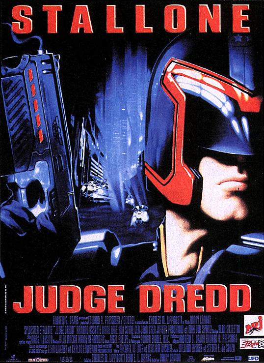 affiche du film Judge Dredd