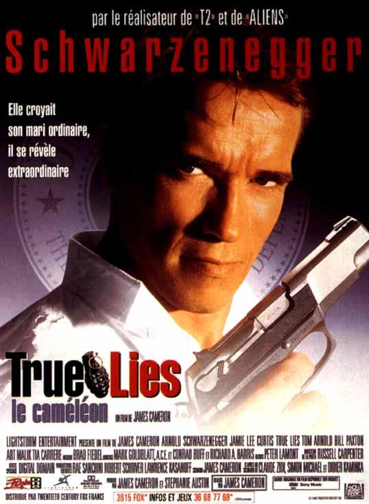 affiche du film True Lies : Le Caméléon
