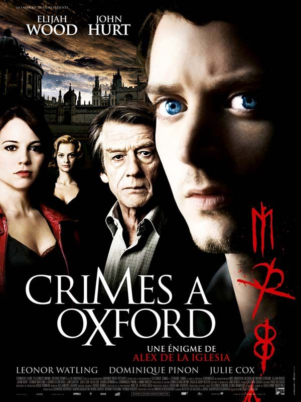 affiche du film Crimes à Oxford