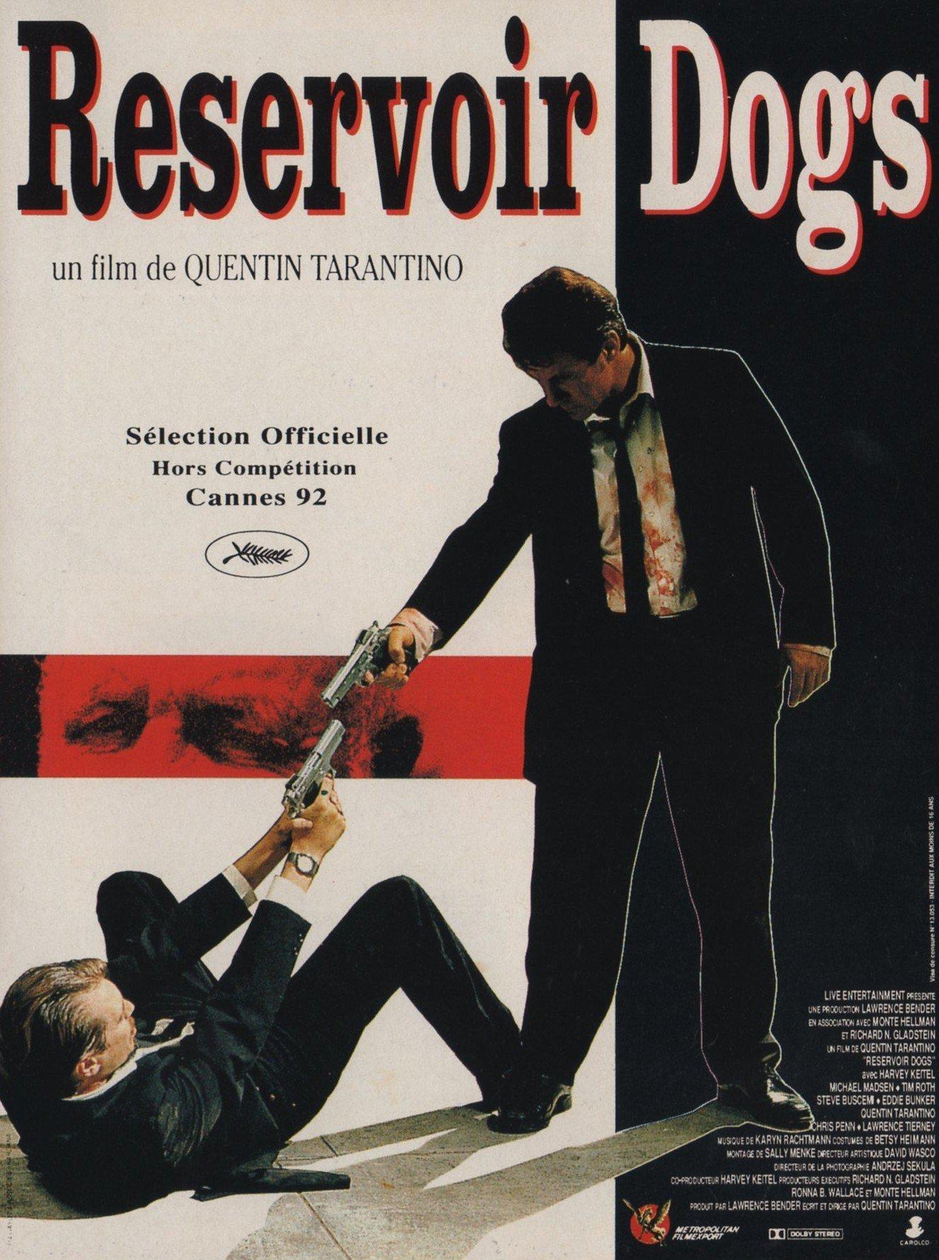 affiche du film Reservoir Dogs