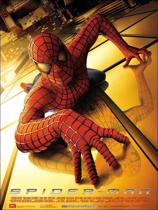 affiche du film Spider-Man