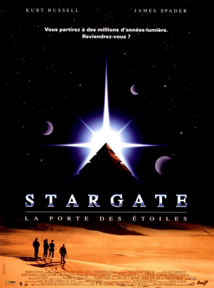 affiche du film Stargate : La porte des étoiles