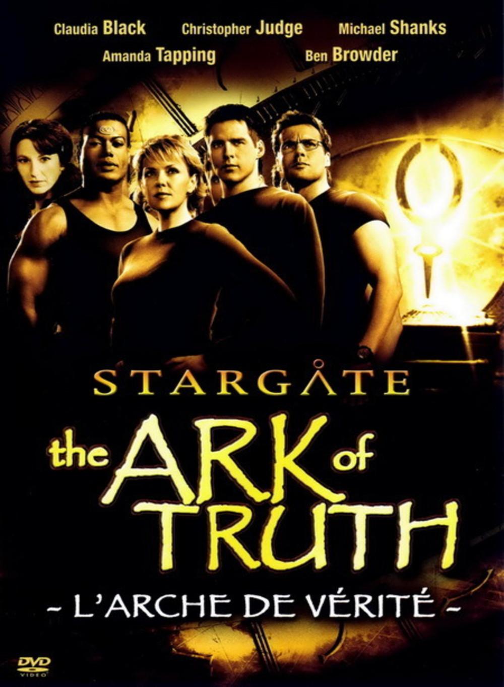 affiche du film Stargate : L'arche de vérité (TV)