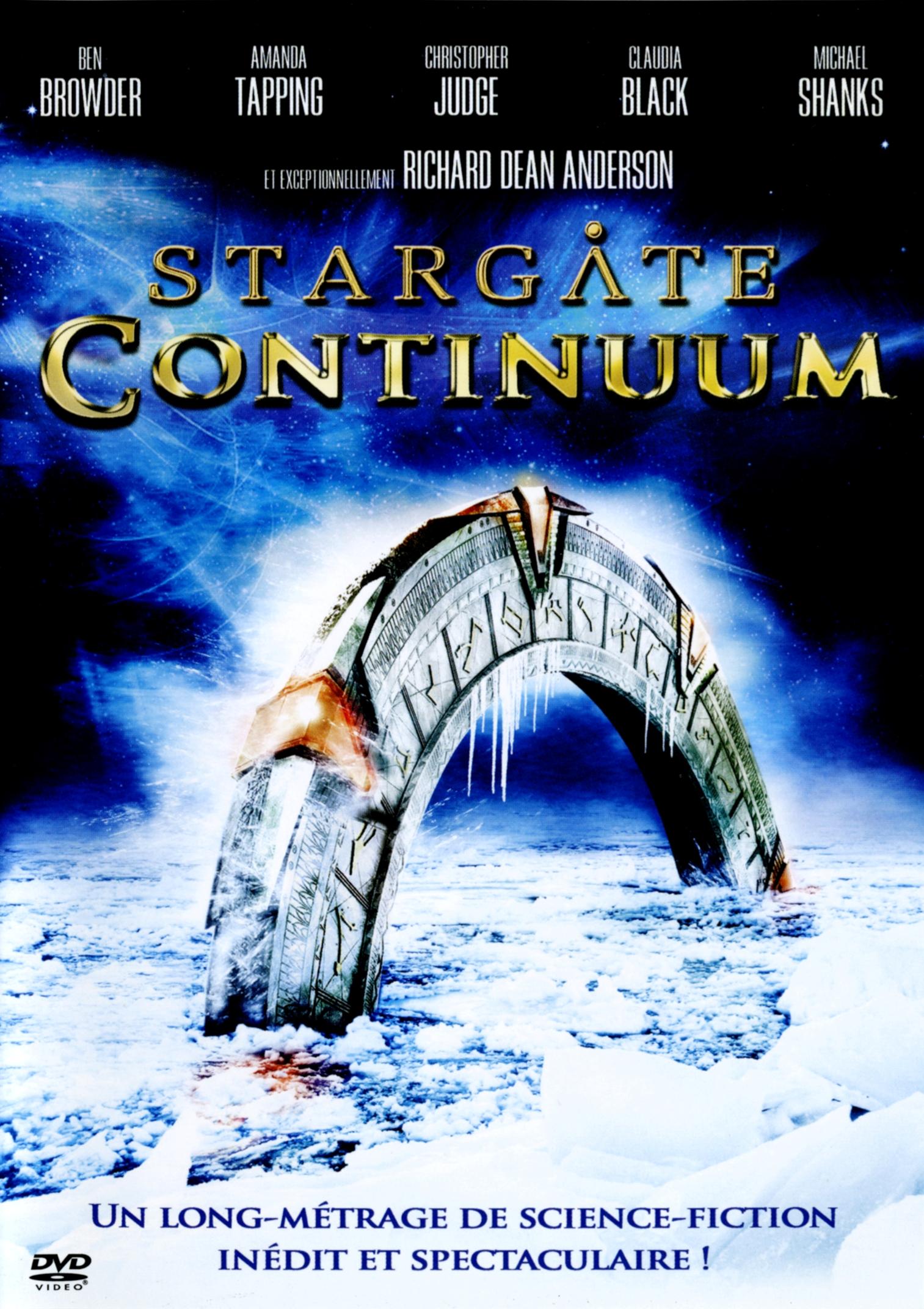 affiche du film Stargate : Continuum (TV)