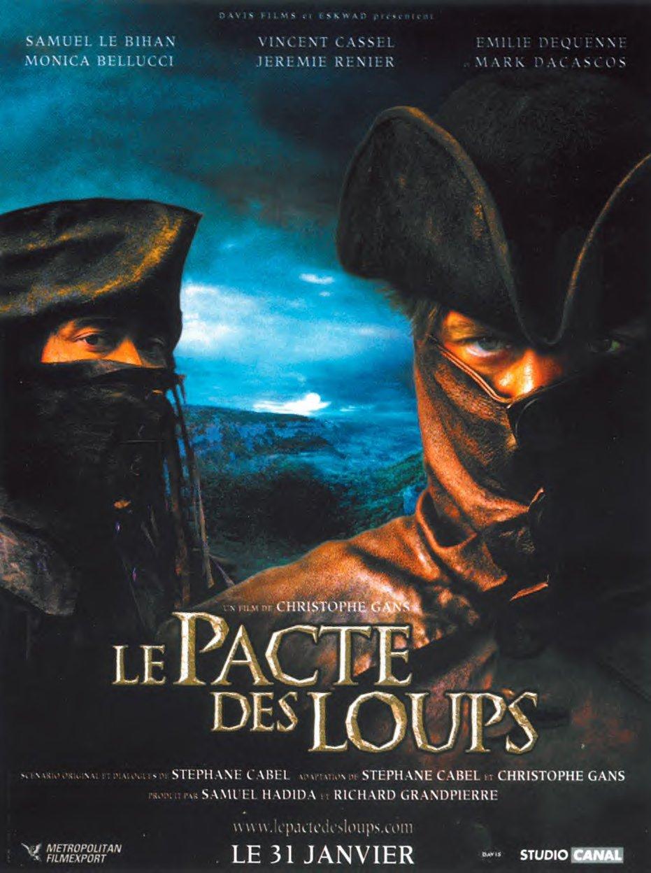 affiche du film Le Pacte des loups