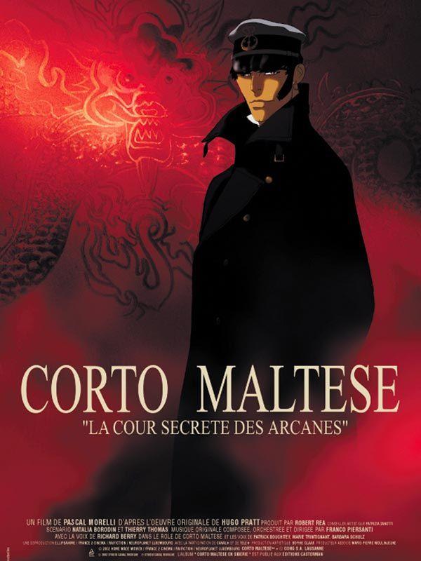 affiche du film Corto Maltese : La cour secrète des Arcanes (TV)