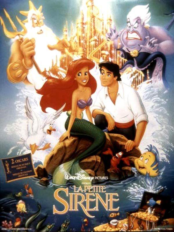 affiche du film La petite sirène (1989)