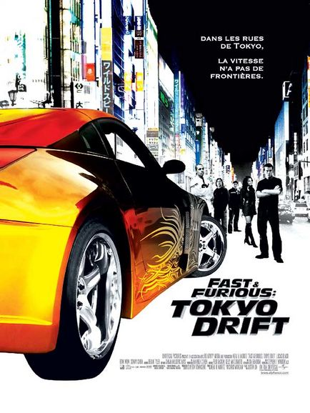 affiche du film Fast & Furious 3: Tokyo Drift