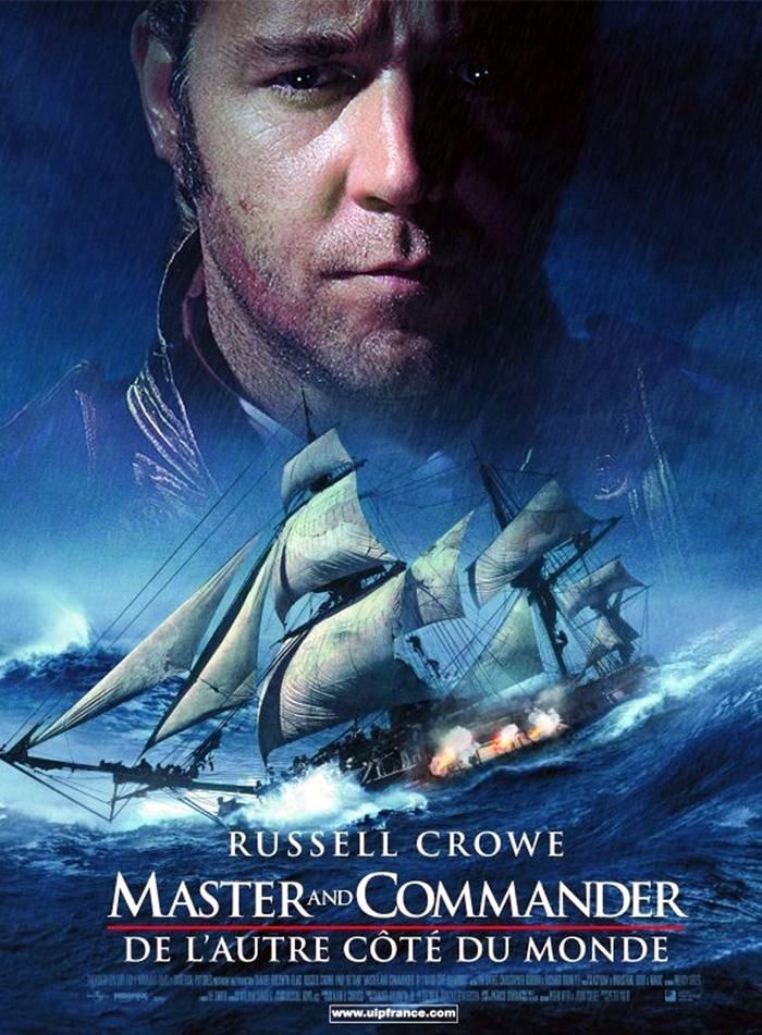 affiche du film Master and Commander : De l'autre côté du monde