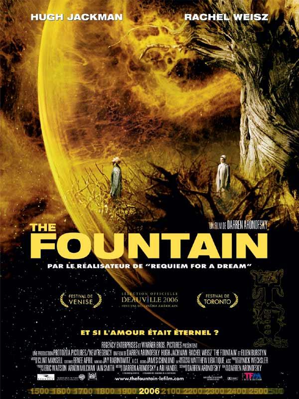 affiche du film The Fountain