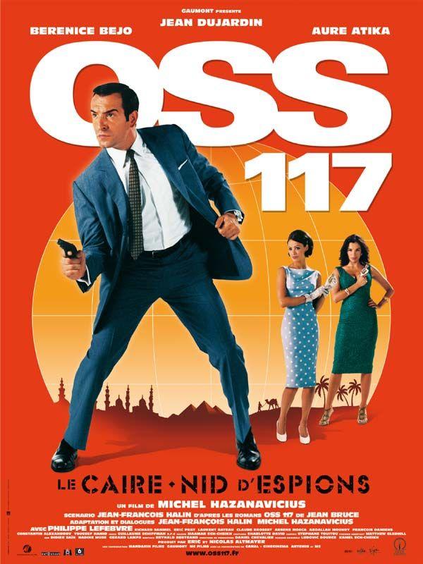 affiche du film OSS 117 : Le Caire nid d'espions