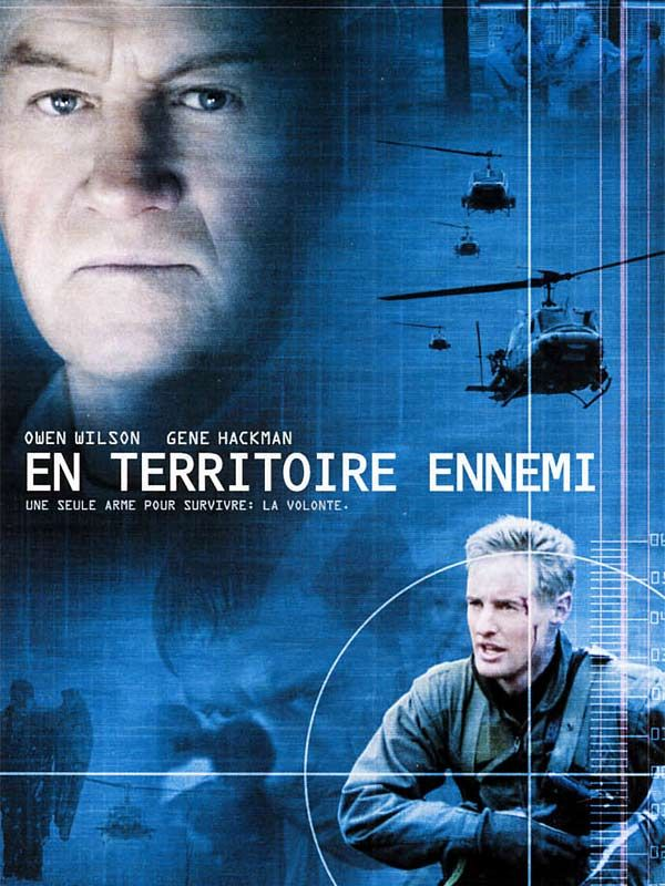 affiche du film En territoire ennemi