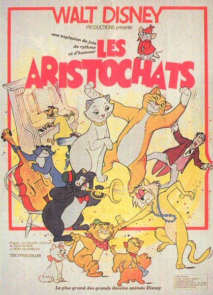 affiche du film Les aristochats