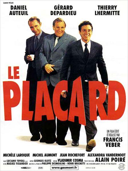 affiche du film Le Placard