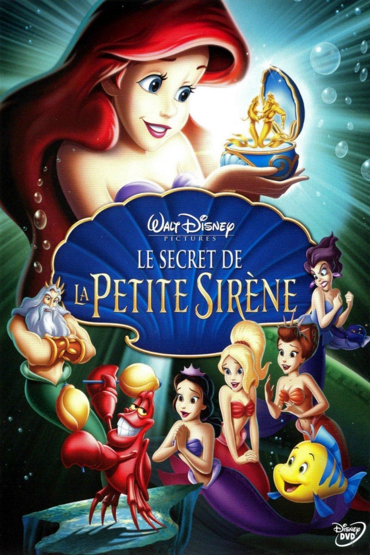 affiche du film Le secret de la petite sirène