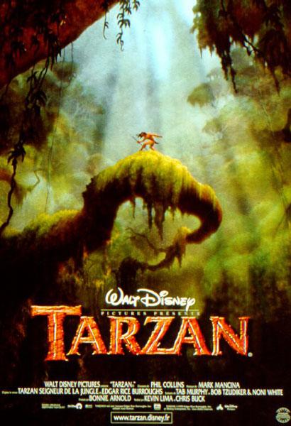 affiche du film Tarzan (1999)