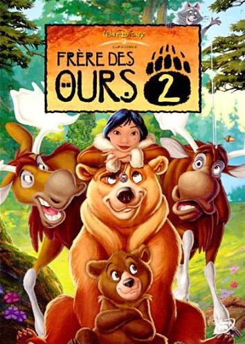 affiche du film Frère des ours 2