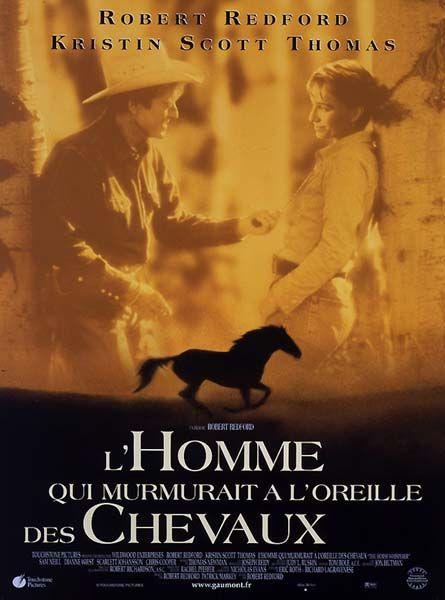 affiche du film L'homme qui murmurait à l'oreille des chevaux
