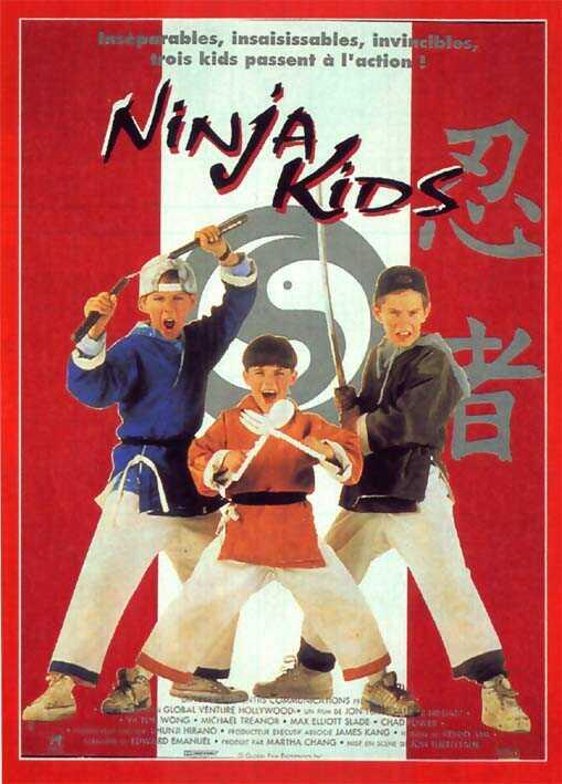 affiche du film Ninja Kids