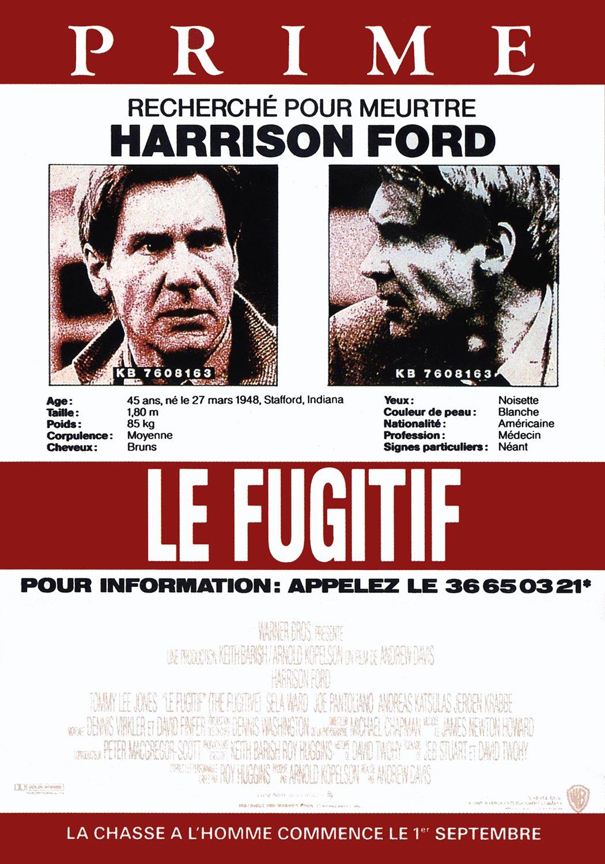 affiche du film Le fugitif