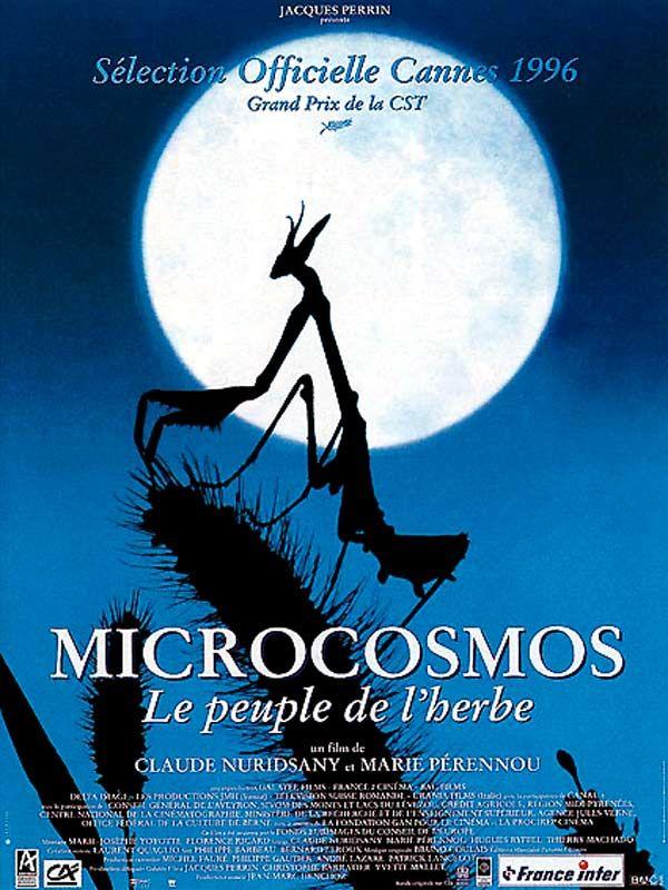 affiche du film Microcosmos : Le peuple de l'herbe