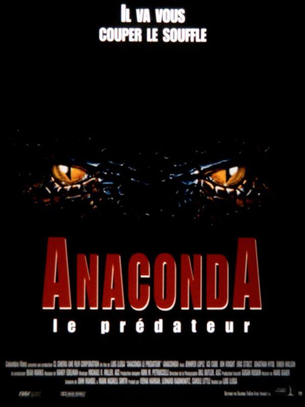 affiche du film Anaconda, le prédateur