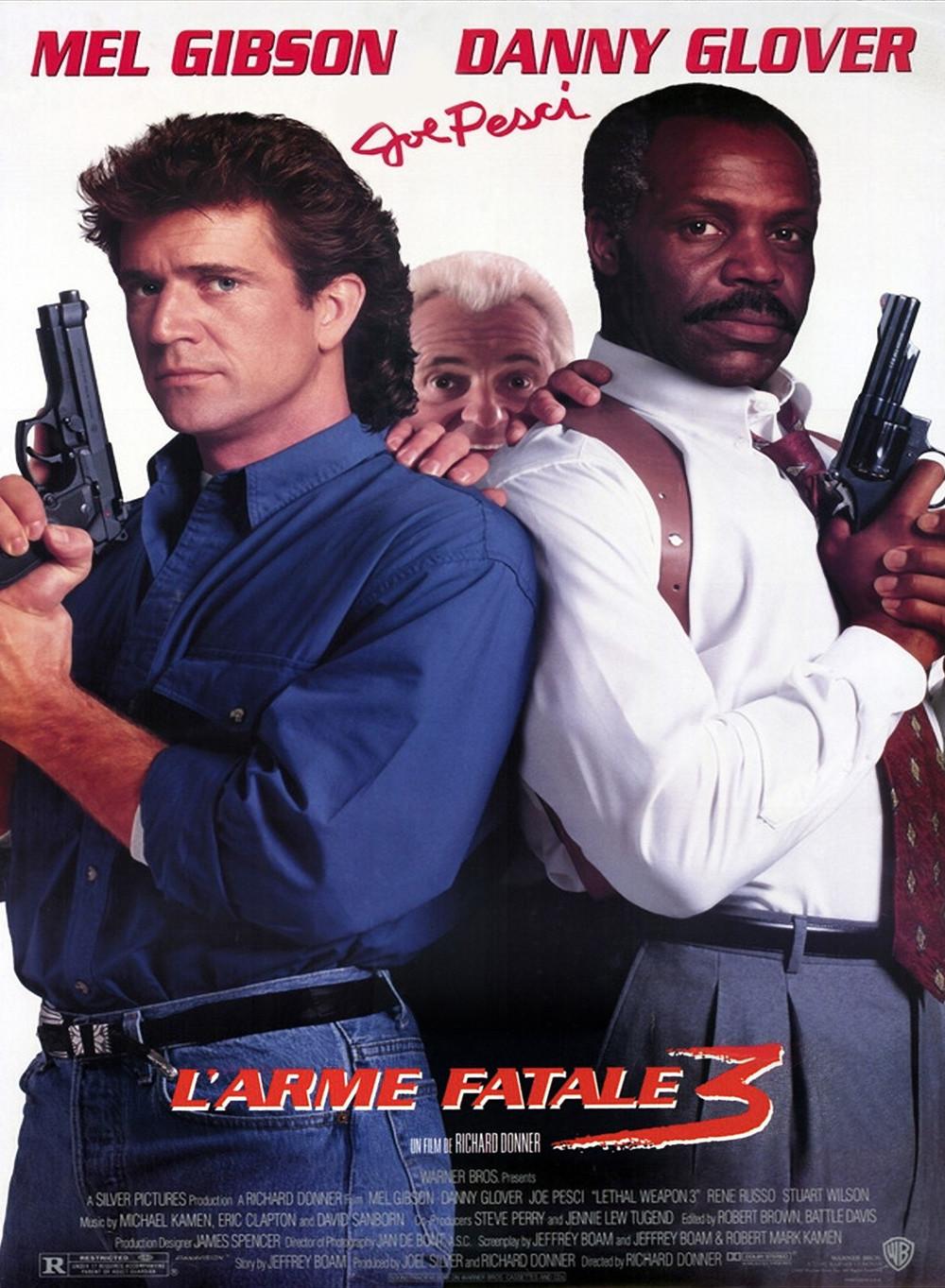 affiche du film L'arme fatale 3
