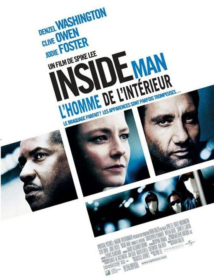 affiche du film Inside Man : L'homme de l'intérieur