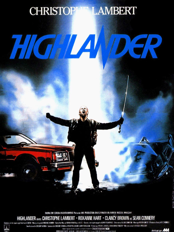 affiche du film Highlander