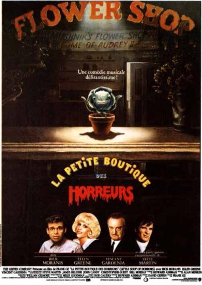 affiche du film La petite boutique des horreurs (1986)