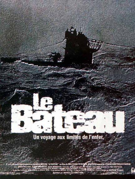 affiche du film Le bateau