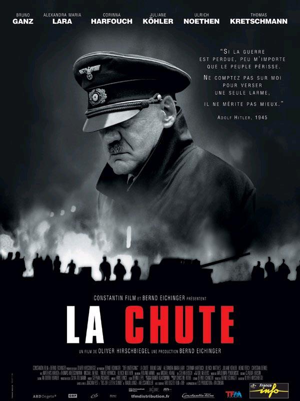 affiche du film La chute