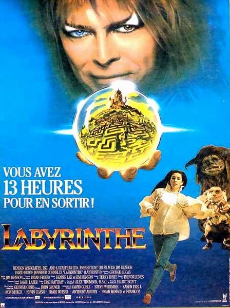 affiche du film Labyrinthe