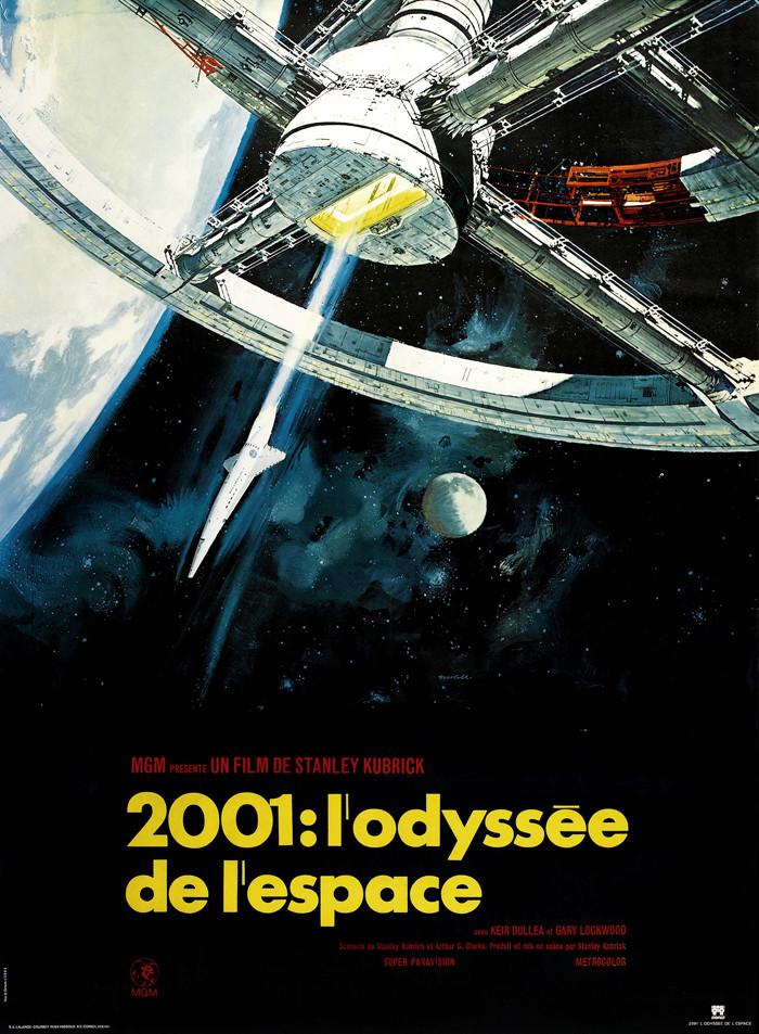 affiche du film 2001, l'Odyssée de l'Espace