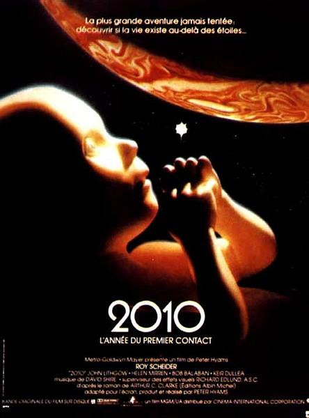 affiche du film 2010: L'année du premier contact (L'odyssée continue)