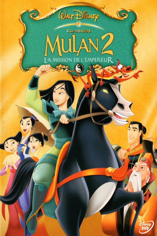 affiche du film Mulan 2 : La Mission de l'Empereur