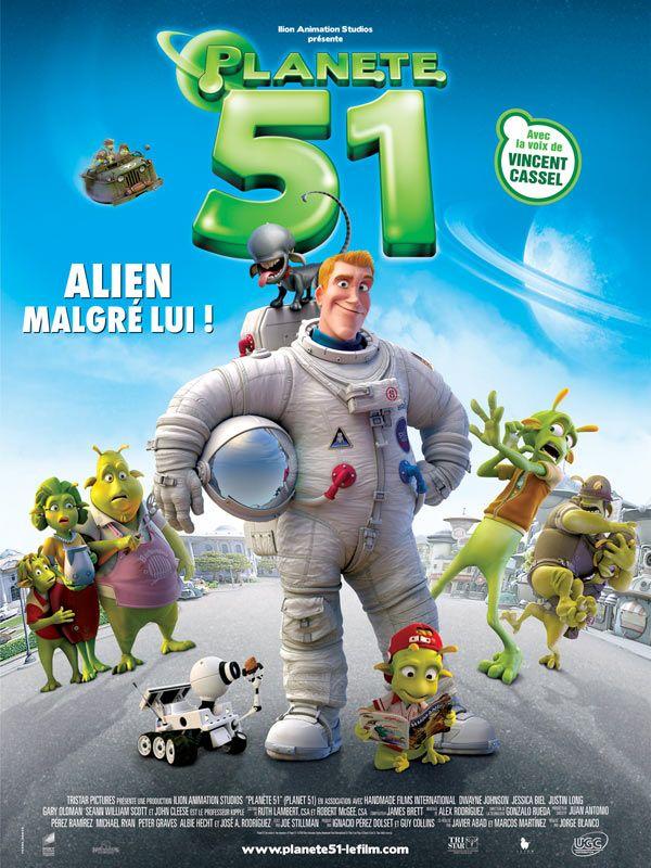 affiche du film Planète 51