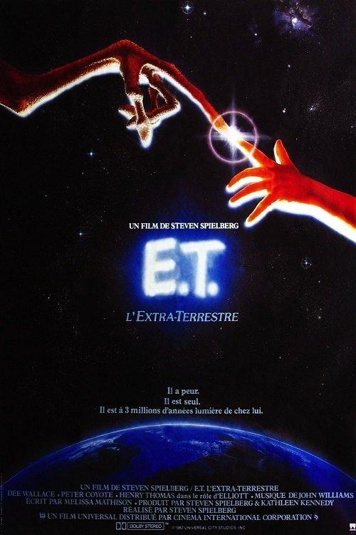 affiche du film E.T. l'extra-terrestre