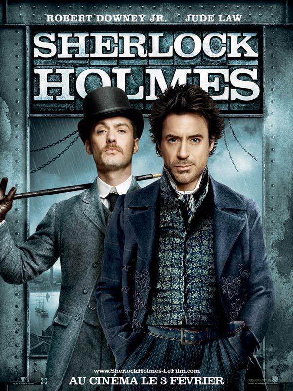 affiche du film Sherlock Holmes (2009)