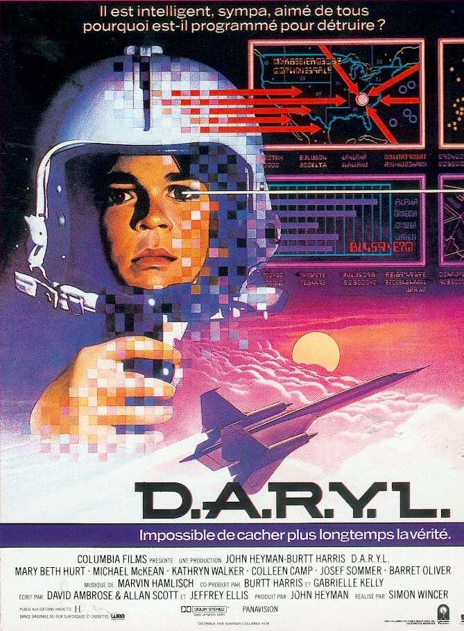 affiche du film D.A.R.Y.L.