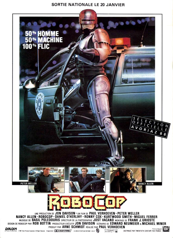 affiche du film RoboCop (1987)