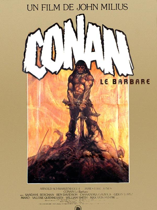 affiche du film Conan le Barbare