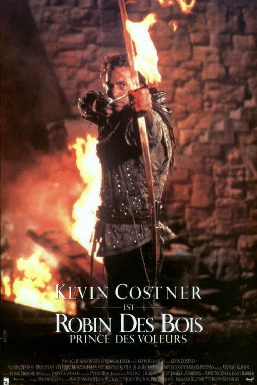 affiche du film Robin des bois : Prince des voleurs