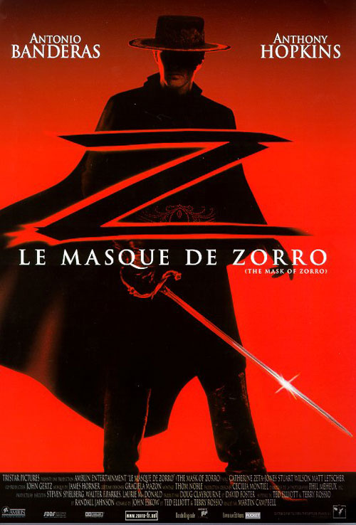 Le Masque de Zorro VK 1998 en streaming