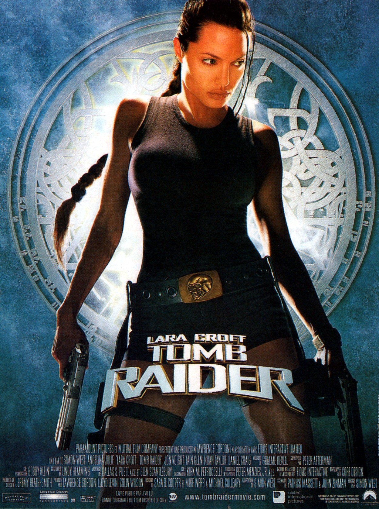 affiche du film Lara Croft: Tomb Raider