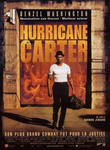affiche du film Hurricane Carter