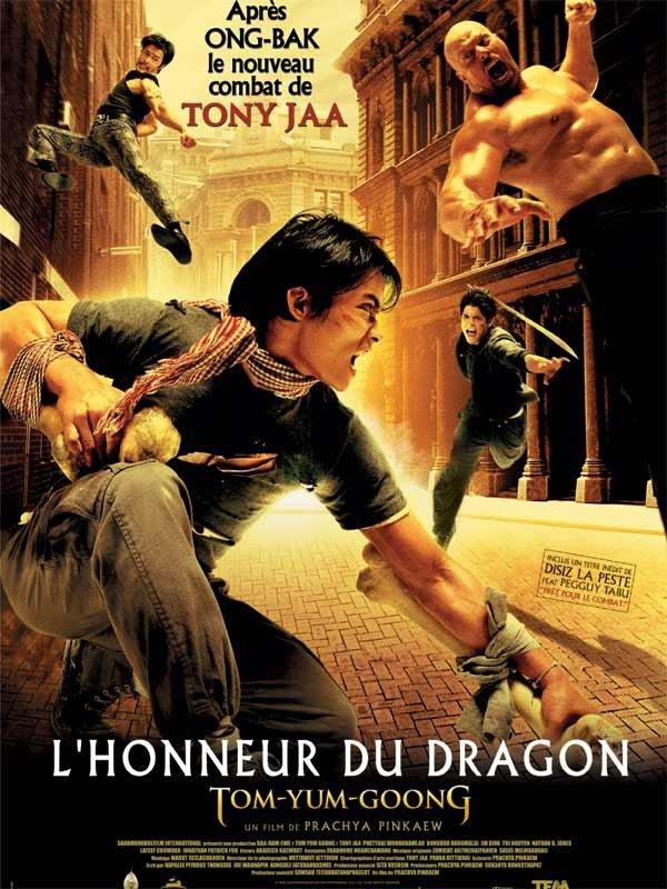 affiche du film L'honneur du dragon