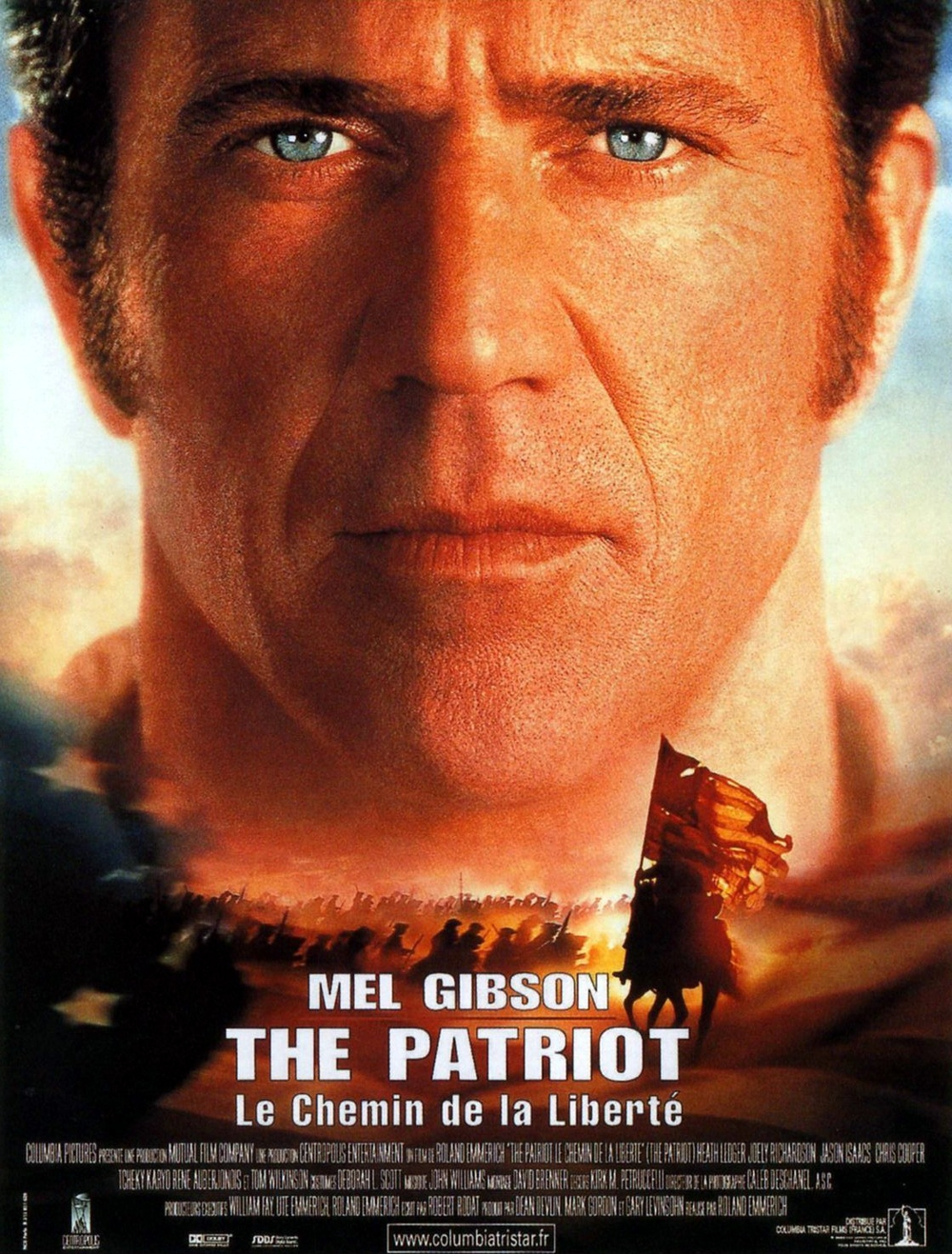 affiche du film The Patriot : Le chemin de la liberté