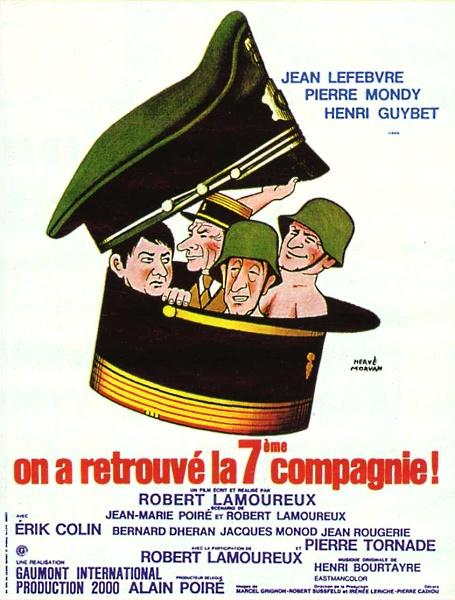 affiche du film On a retrouvé la 7ème Compagnie !