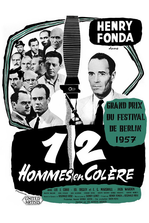 affiche du film 12 hommes en colère (1957)